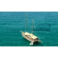 """Private Day Tour - """"Kyrenia Private Boat Trips"""" With Lunch & BBQ (Enjoy a large yacht reserved only for your guests) One of the Best Attraction of (Things to Do in) North Cyprus"""